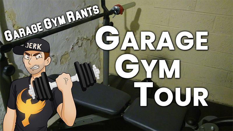 Youtube garage gym rants u garage gym tour
